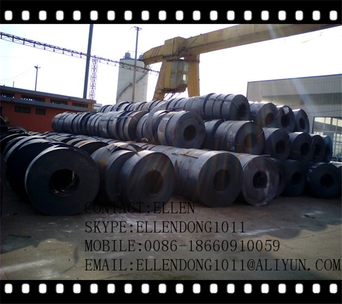 blue hoop iron steel strapping for packaging