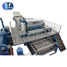 fulong full Automatic customized paper chicken egg tray pulp molding machine production line