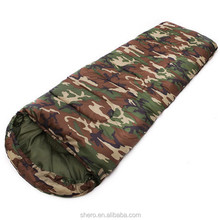 custom high quality cheap 4 season waterproof military army sleeping bag for outdoor camping SB087