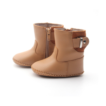 Genuine Leather Infant Shoes Winter