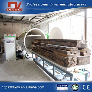 Manual HF Vacuum Drying Unit Dryer Price for Furniture Wood Processing Industry