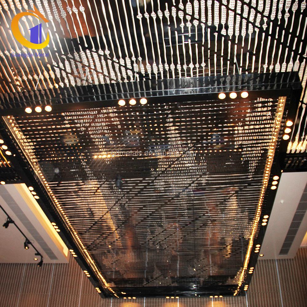Restaurant Stainless Steel Hanging Decors Plafond Indoor Decorative