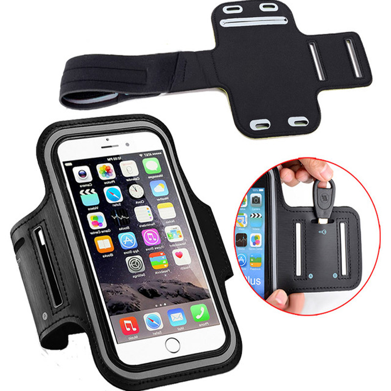 Mobile Phone Accessories 100pcs For Iphone 6 7 7 Plus Sports Armband Waist Band Belt Running Wallet Bag Waterproof Gym Case For Iphone 6 6 Plus