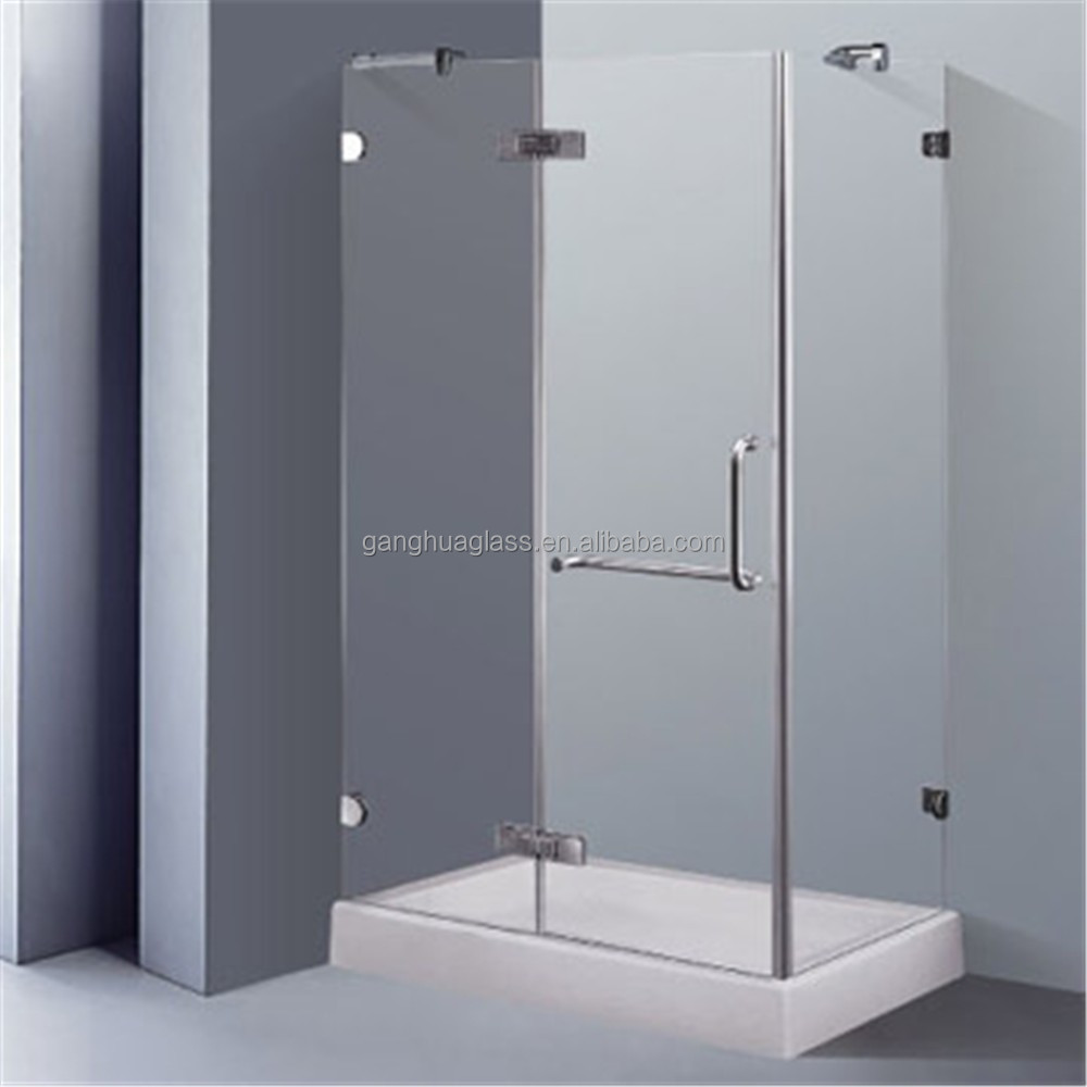 Two Sides Wall Simple Square Shower Enclosures - Buy Two Sides ...
