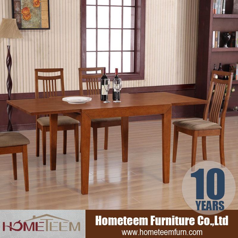 2016 latest design folding extending dining table in oak
