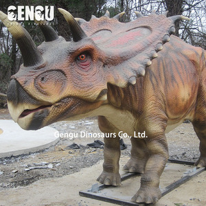 Carnival equipment animatronic dinosaur indoor outdoor