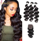 Clearance sale 40% OFF 100% Virgin Cheap Brazilian Hair Weaving Natural Color Body Wave Hair