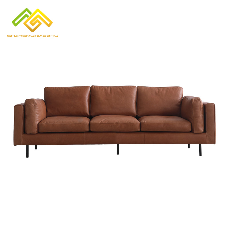 Simple duvet modern italy genuine leather <strong>sofa</strong>