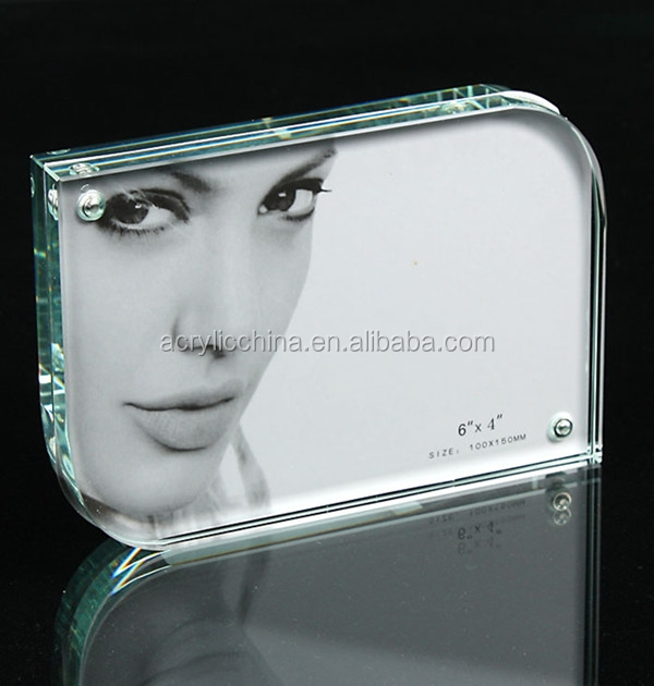 Hot sell clear acrylic open hot sexy girl photo frame