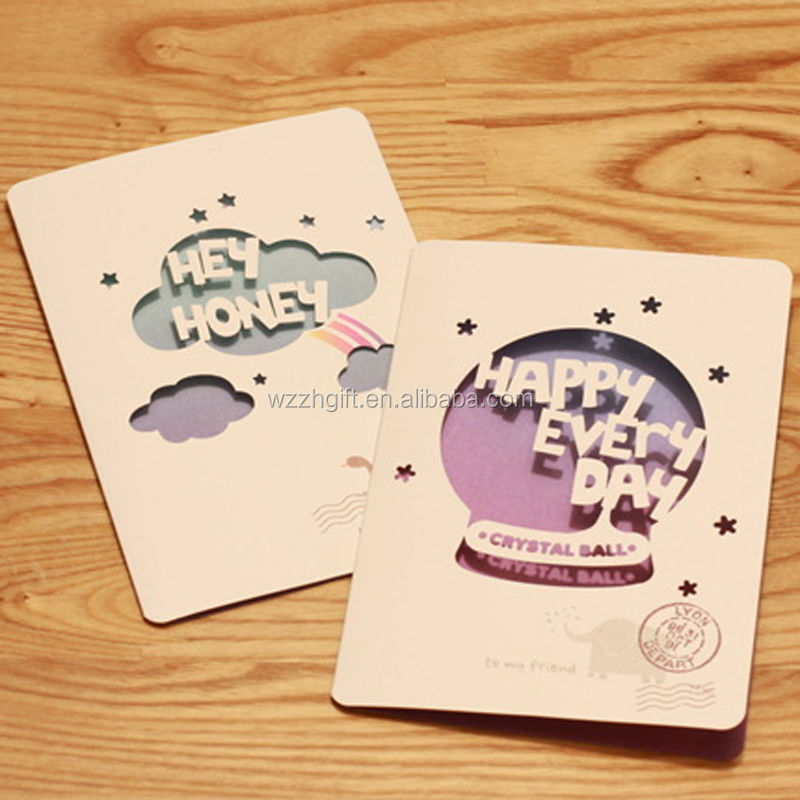 various die cut shape greeting card  buy various die cut shape, Greeting card