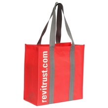 lamined non-woven reusable folding tote bags