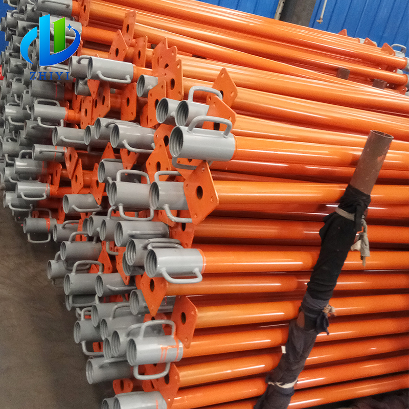 Factory adjustable modular turbo scaffolding prop