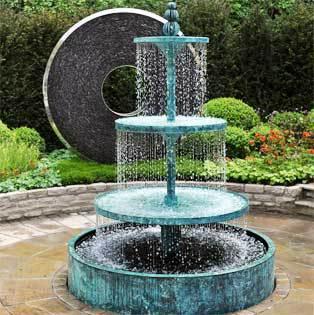 Antique Garden Water Fountain Cast Iron Water Fountain