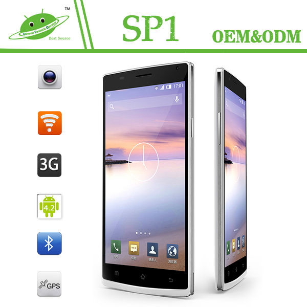 China Hot Sale MTK6582 1G ROM 8G ROM Quicky Camera Cheapest 5.5 inch Android Jelly Bean Mobile Phone
