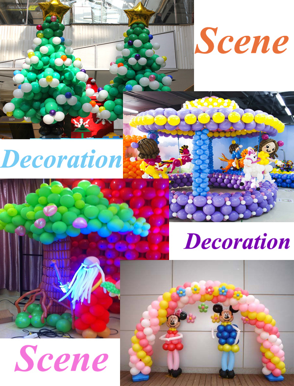 Hot sale wholesale 10 inches family day round standard for Balloon decoration business