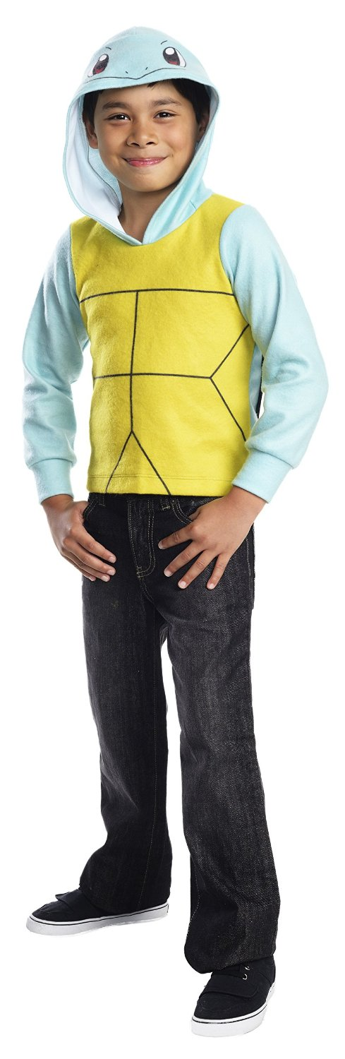 Rubie's Costume Pokemon Squirtle Child Novelty Hoodie Costume, Medium