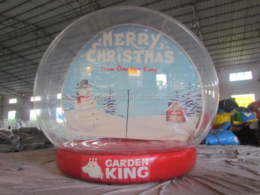 Custom Snow Globes,inflatable snow globe photo booth, inflatable dome for outdoor promotional event