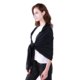 European style dark color soft shawl women wool cashmere scarf