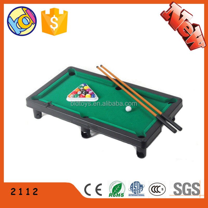 Pool games snooker table plastic toy 2017 New