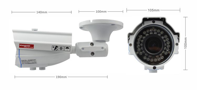 Hot Bullet Ahd Cctv Camera 1/4