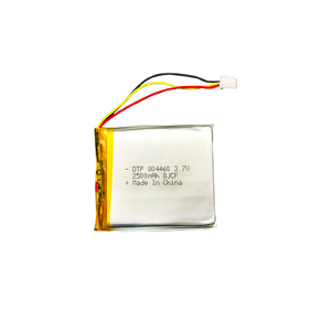 Hot sale rechargeable CE certificate 704460 3.7v 2500mAh great power lipo battery