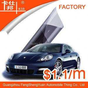 Guagnzhou FSY Factory price deep black 5% vlt car vinyl film,car wrap film