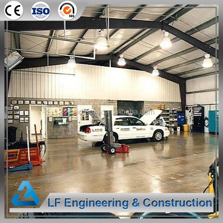 Freie Pläne Vorgefertigte Stahl Garage