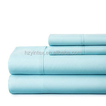 High Quality Home Textile 4PCS Microfiber Brushed Bed Sheet for College