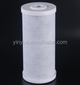 "10"" big blue activated carbon block filter cartridge for home use water filter"