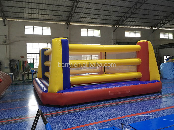 Exciting inflatable thai boxing ring and glove