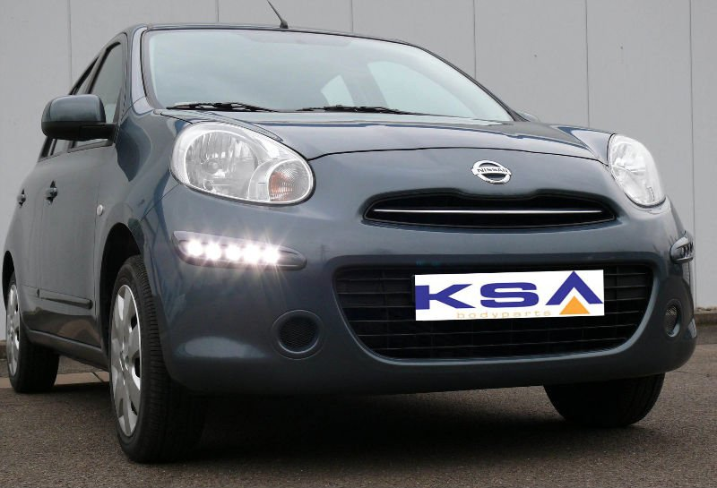 Daytime running lights integrated kit for Nissan MICRA K13