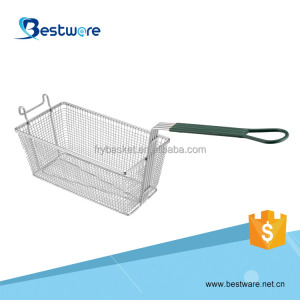 Commercial Grade Ninyl Handle Metal Chip Baskets