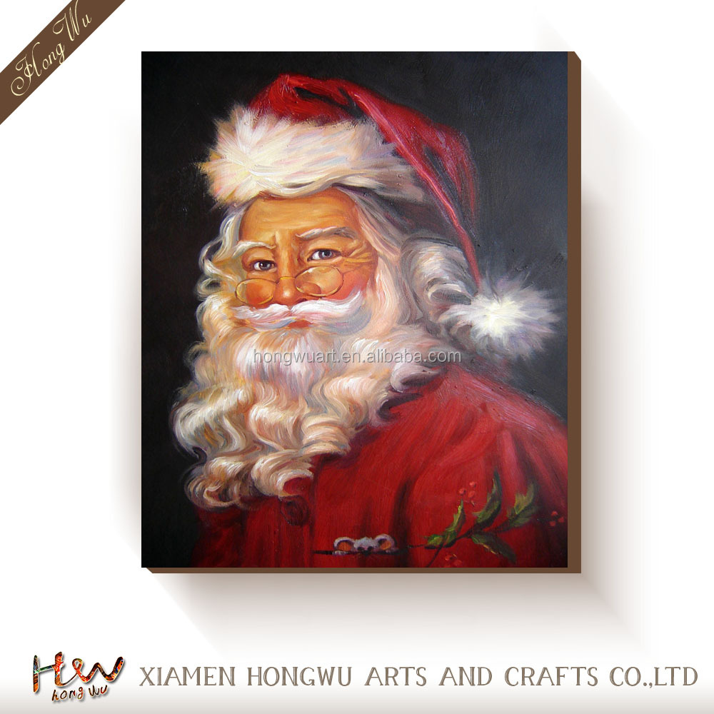 oil paintings santa claus oil paintings santa claus suppliers and