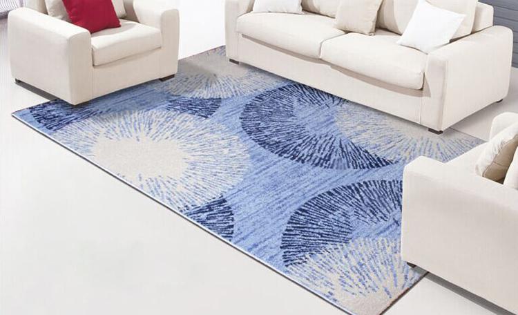 Modern Minimalis Teh Benang Siku Karpet Untuk Ruang Tamu Dan Sofa Tikar