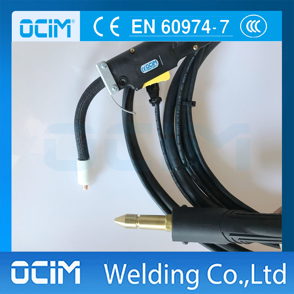 2016 new German technology gas shielded welding torch for copper tube welding