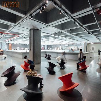 Ruya Creative Spun Armchair 360degree Rotating Modern