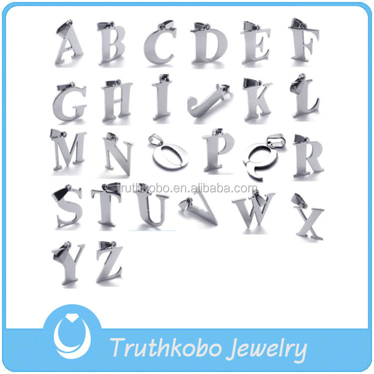 Tkb-p0055 China Alibaba Jewelry Gold Supplier Alphabet Letter S ...