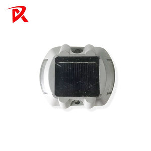 aluminum 6 led solar power dock ground light