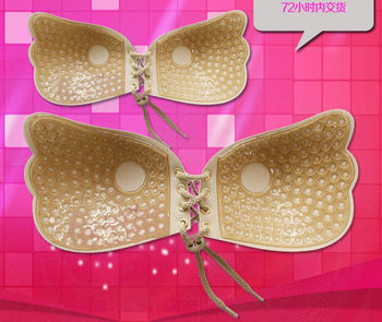 3cb5568b6d422 Women Self Adhesive Strapless Bandage Stick Gel Silicone Push Up Invisible  Bra - Buy Silicon Bra