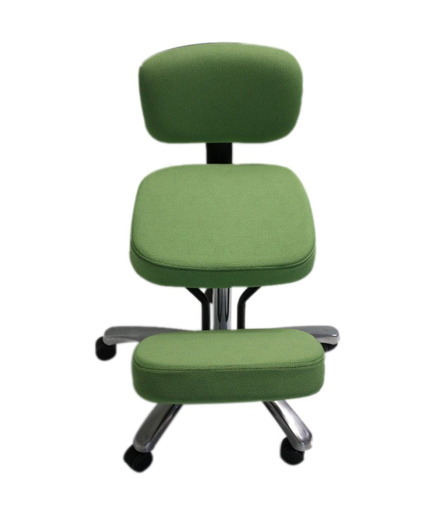Jobri BP1446LI BetterPosture Jazzy Kneeling Chair   Lime Green