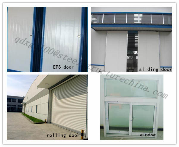 frame of light steel structure warehouse for sales