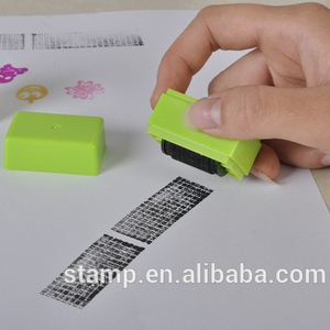 Self-inking ID guard stamp materials/Rubber roller stamps