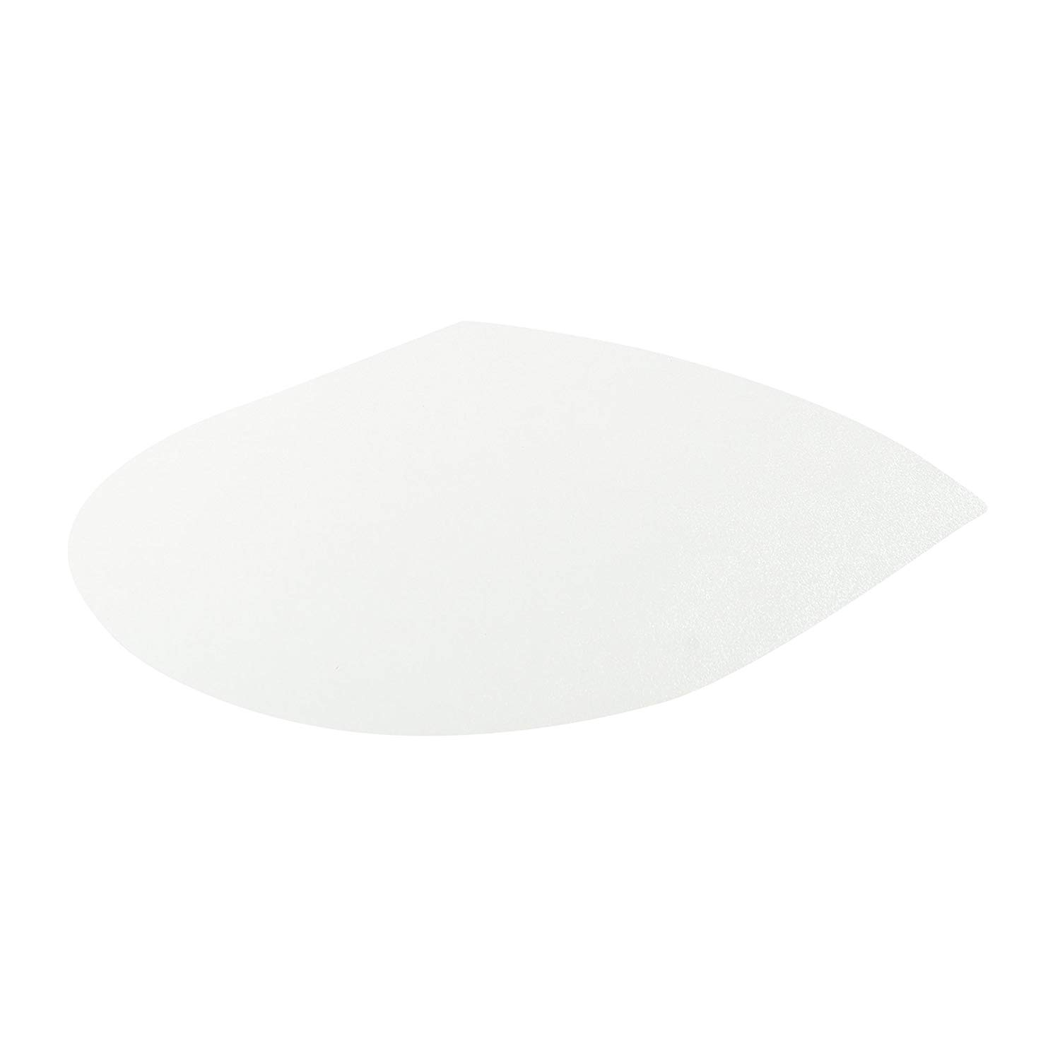 Deflecto Polycarbonate Clear Chair Mat, Hard Floor Use, Contour, 36 x 48 Inches (CM21092HPC)