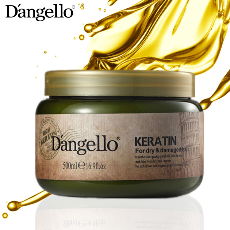 D'angello Brazilian Keratin Smooth Hair Treatment, Keratin After Care Hair Mask, Nourishing Repairing Color-Protection