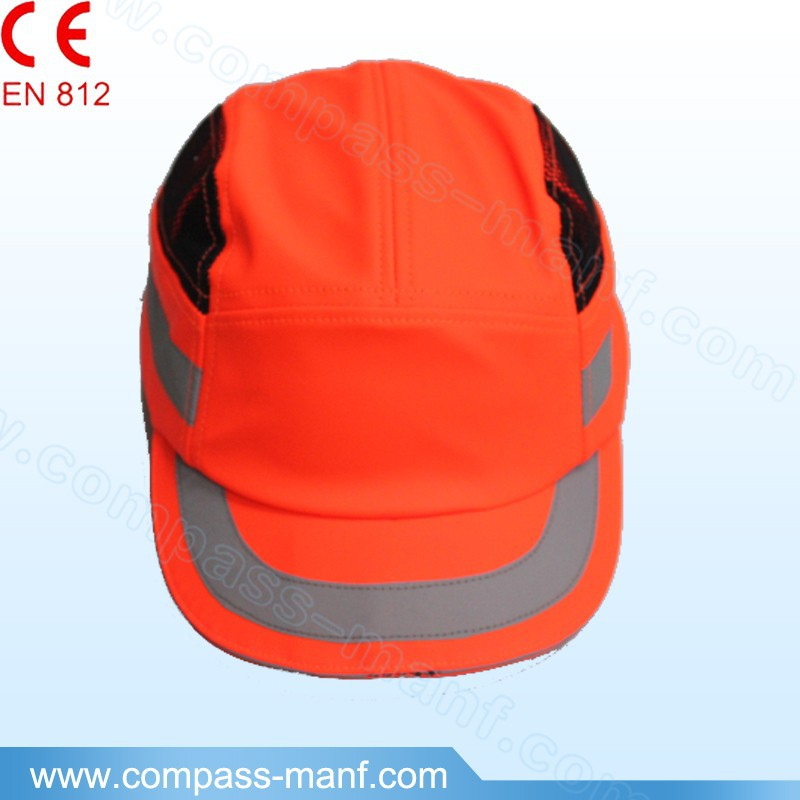 Safety Work Wear Hard Hat Helmet HiVis Orange Head Protect Bump Caps