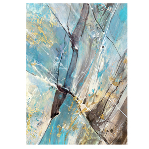 Wall Art Handmade Canvas Oil Painting Abstract Subject Home Decor For Living Room