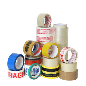 opp packing tape with logo and your own brand