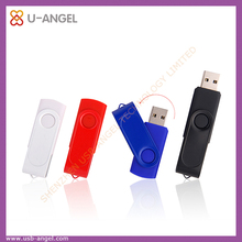 Custom Logo Swivel USB 2.0 Flash Memory Drive Disk with cheap price