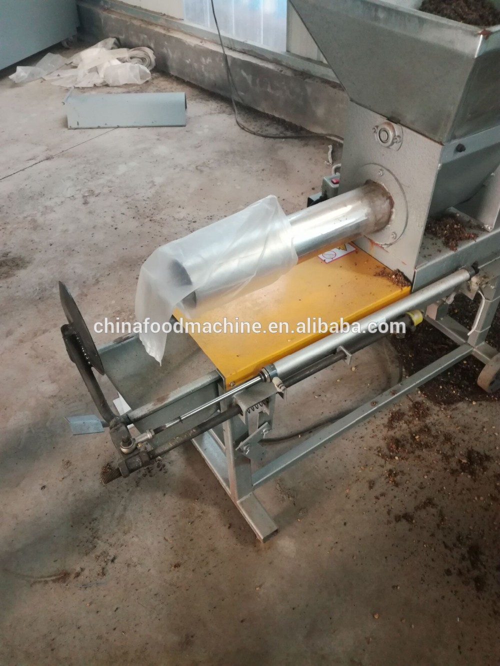 machine for small business mushroom bag filling machine