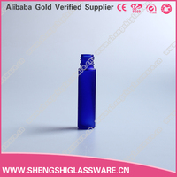 wholesale 10ml cobalt blue round essential oil glass vials